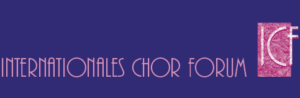 Logo internationales-chor-forum